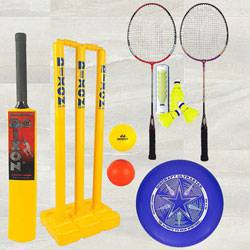 Remarkable Toyshine 3 in 1 Mega Sports Combo to Aluva