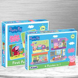 Wonderful Set of 2 Puzzles for Kids to Agra