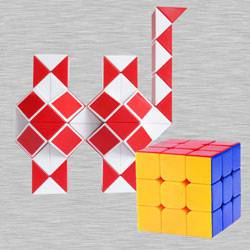 Exciting Cubelelo Magic Snake N Speed Cube to Adra