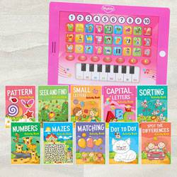 Marvelous Mitashi Sky Kidz Hello Teacher N Activity Books Set to Akola