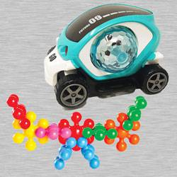 Amazing 360 Degree Rotating Stunt Car N Funskool Kiddy Star Links to Adra