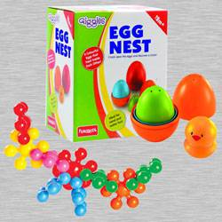 Amazing Funskool Kiddy Star Links N Giggles Nesting Eggs to Adra