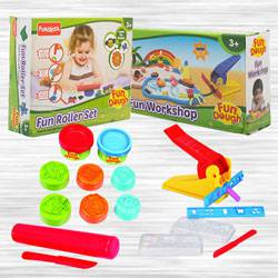 Marvelous Funskool Fundough Work Shop N Fundough Gift Set to Agra