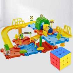 Marvelous Speed Cube N Toy Train Set to Alapuzha