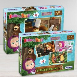 Remarkable Frank Masha The Bear Puzzle Set to Adra