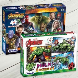 Marvelous Frank Marvel Avengers Jigsaw Puzzle Set to Ahmedgarh