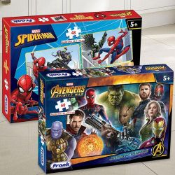 Marvelous Frank Marvel Spider-Man N Avengers Infinity War Puzzle Set to Aluva