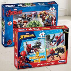 Wonderful Frank Marvel Spider-Man N Marvel Avengers Puzzle Set to Ahmedgarh