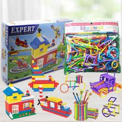 Marvelous Building Blocks Set for Kids to India