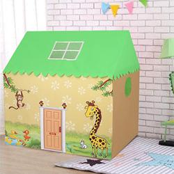 Colourful Animal Printed My Tent House for Kids to Aizawl