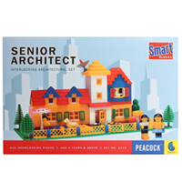 Super Architect - Game of interlocking architectural set to Akaltara