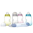 Milk Bottle with Nipple 1 Pack (240ml)