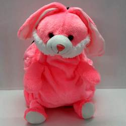 Classic Bunny Shaped Soft Toy School Bag for Kids to Allahabad
