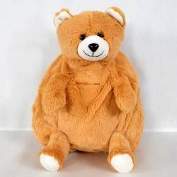 Stylish Teddy Shaped Soft Toy School Bag for Kids to Varanasi