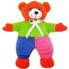 Happy & Colorful Teddy (Size: 7 inch) to Kolkata