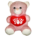 Just For You Teddy With Heart (8 Inches) to Belgaum
