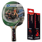 Exclusive Donic Young Champ 400 Table Tennis Racquet 2pcs set ,Stiga Competition 3 Star Table Tennis Ball - 3 to Bihar