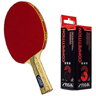 Enjoy Sport with Stiga  Table Tennis Racquet 2pcs set,Stiga Competition 3 Star Table Tennis Ball - 3 to Berhampur