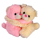Delightful Pair of Teddies with Essence of Romance to Surat