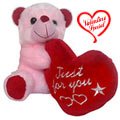 Fabulous Teddy Bear with Affectionate Indulgence to India