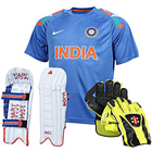 Learn Some Leadership Skills with MS Dhoni Wicket Keeping Kit to Hyderabad