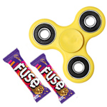 Fascinating Hand Spinner with Cadbury Chocolate Gift Set to Amritsar