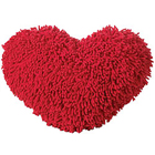 Cuddly & Romantic Red Heart Shape Love Cushion to Allasandra