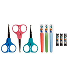 Nuby-Manicure Set On Card Nail Clipper, Scissors & Plastic Printed File to Pappanaickenpalayam