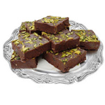 Delectable Pack of Chocolate Barfi-500g to Diwali_uk.asp