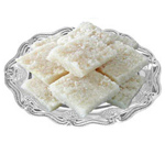 Mouth-Watering Coconut Barfi Pack of 500 gm to Diwali_uk.asp