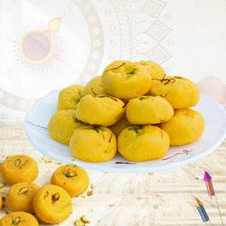 Delicious Kesaria Peda for Pooja to Diwali_uk.asp