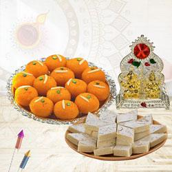 Exclusive Combo of Mandap, Ladoo N Kaju Katli to Diwali_uk.asp