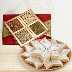 Marvelous Combo of Mixed Dry Fruits with Kaju Katli to Diwali_uk.asp