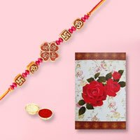 Unique Rakhi with Rakhi Card to Rakhi_to_uk.asp