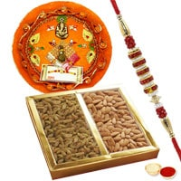 Astonishing Selection of Rakhi Thali, Pack of Dry Fruits with Rakhi for Raksha Bandhan Celebration to Rakhi_to_uk.asp