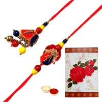 Ultimate Combo of Bhaiya and Bhabhi Lumba Rakhi to Rakhi_to_uk.asp