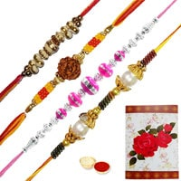 Amazing Combo of Rakhis with Rakhi Card to Rakhi_to_uk.asp