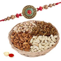 One or More Premium Rakhi with Dry fruits to Rakhi_to_uk.asp
