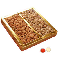 Dry Fruits 200 Gms. Almonds and Resins. to Rakhi_to_uk.asp