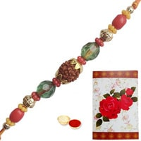 Ecstatic Rudraksh Rakhi to Rakhi_to_uk.asp