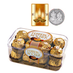 Ferrero Rocher Chocolate Box and Free  Siver Plated Coin.Free Diwali Card. to Diwali_usa.asp