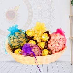 Divine Treat Chocolate N Dry Fruits Gift Hamper to Diwali_usa.asp