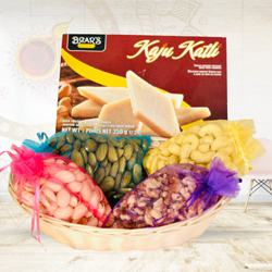Marvelous Kaju Katli with Mixed Dry Fruits<br> to Diwali_usa.asp