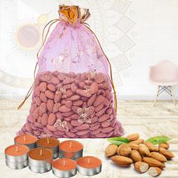 Exquisite Almonds Potli Gift Combo<br> to Diwali_canada.asp