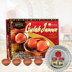 Exquisite Gulab Jamun Combo Gift to Diwali_canada.asp