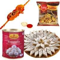 Big Hamper with One or More Rakhi Options<br /><font color=#0000FF>Free Delivery in USA</font> to Serch_price_usa.asp
