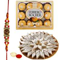 Sweets n Chocolate Hamper n Rakhis<br /><font color=#0000FF>Free Delivery in USA</font> to Stateusa.asp