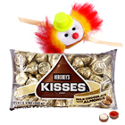 One Kids Rakhi and 1 Ethnic Rakhi with Hersheys Kisses ( 75 Gms.)<br /><font color=#0000FF>Free Delivery in USA</font> to Rakhi_to_usa.asp