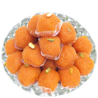 250 Gms. Boondi Ladoo<br /><font color=#0000FF>Free Delivery in USA</font> to Rakhi_to_usa.asp
