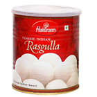 1 Kg. Haldirams Rasgulla Pack<br /><font color=#0000FF>Free Delivery in USA</font> to Stateusa.asp